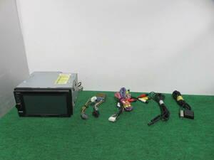 R297 動作品保証付/スズキ車用 KENWOOD SDカーナビ/MDV-323/TVワンセグ内蔵/CD DVD USB 配線セット付き