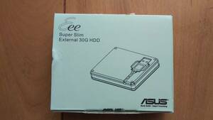 ASUS Super Slim External 30G HDD (SHE251) USB2.0 out attaching HDD