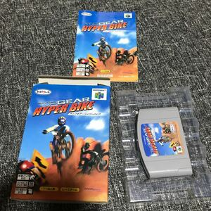 Nintendo64 トップギアハイパーバイク 箱説付き ニンテンドー64