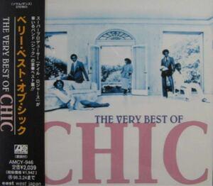【国内盤CD】シック/ベリー・ベスト・オブ・シック-『おしゃれフリーク』『グッドタイムス』等全14曲収録