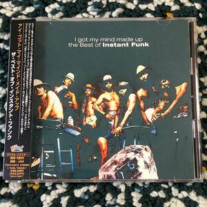 【国内盤CD】インスタント・ファンク/ベスト・オブ…〜アイ・ゴット・マイ・マインド・メイド・アップ-サルソウル代表格ファンクバンド