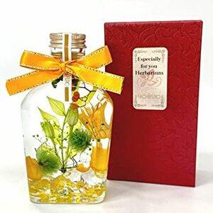 シトラス 【NICHIFLRO】ニチフロ ハーバリウム 専用BOX付き 日本製 プレゼント 長持ち 枯れない花 プリザーブドフラ