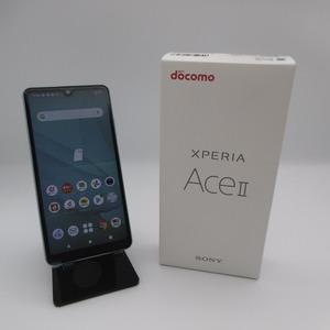 ドコモ Xperia Ace SO-41B 64GB ブルー 判定〇