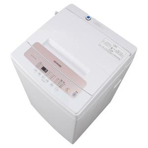 【店舗お渡し限定】アイリスオーヤマ 全自動電気洗濯機 縦型 IAW-T502E-WPG 5.0kg 2019年製 簡易乾燥機能付 一人暮らし 洗浄・除菌済み