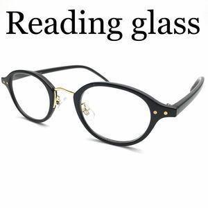 小ぶりなのでお顔に馴染みやすい!クラシックボストンダテメガネのようなおしゃれな老眼鏡♪ブルーライト、紫外線カットレンズ ケース付