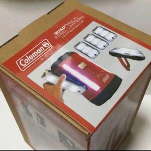新品 コールマン Coleman マルチパネルランタンLED乾電池式 2/3/4 マルチパネル 1番大きいサイズ USB 充電