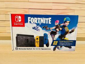 Nintendo Switch フォートナイトSpecialセット未開封品 ワイルドキャットバンドル付属 保証印なし 領収書あり