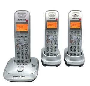 Panasonic■コードレス電話機 (子機2台)■KX-TG1060B■シルバー■