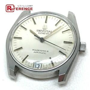 UNIVERSAL GENEVE ユニバーサル・ジュネーブ ポールルーター メンズ腕時計 SS 自動巻き シルバー