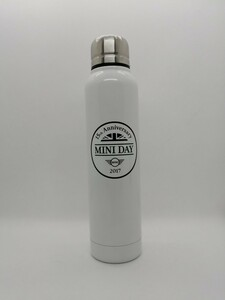 【新品未使用】MINI ミニ 15周年 ステンレスボトル 350ml ホワイトカラー