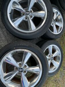 Ford Mustang wheel 114.3 18×8.5J +45 low use Ame car
