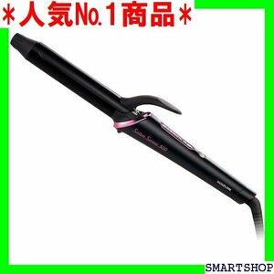 人気№1商品 コイズミ ヘアアイロン カール 26mm サロンセンス 300 海外対応 ブラック KHR-1110/K 63