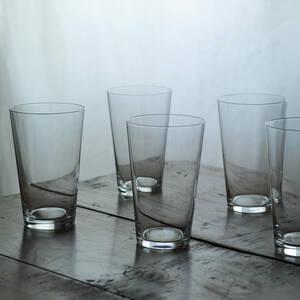 アンティーク オールドバカラ ユニ クリスタルグラス ゴブレット / Old Baccarat Uni Crystal Glass / フランス 1900's ガラス 硝子 刻印