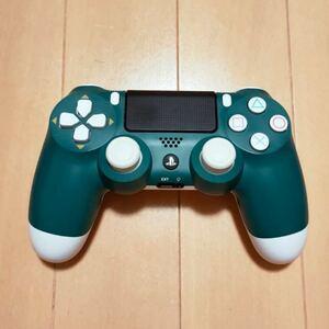 PS4 デュアルショック4 ワイヤレスコントローラー アルパイン・グリーン