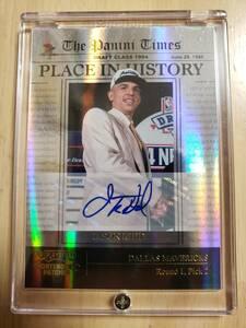 49枚限定 サイン 2011 -12 Panini Contenders JASON KIDD Auto (#/49) / ジェイソン キッド Autograph Place in History