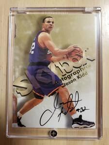 サイン 1998 -99 Skybox Autographics JASON KIDD Auto / ジェイソン キッド Autograph