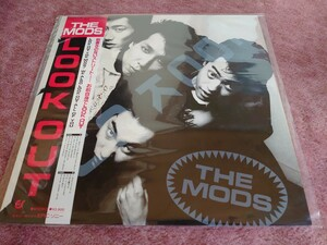 LPレコード THE MODS LOOK OUT
