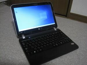 【送料無料】HP Pavilion dm1-4301AU AMD E1-1200/SSD120GB/mem4GB/Webカメラ/windows10/AC付き