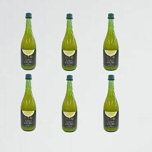新品 未使用 720ml 有機レモン果汁 3-87 ×6本(1ケ-ス)