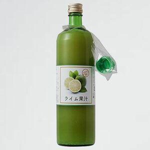 新品 目玉 900ml ライム果汁ストレ-ト100% C-RR