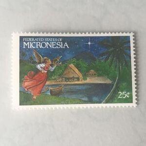 ★ミクロネシアのかわいい切手★ クリスマス (未使用)