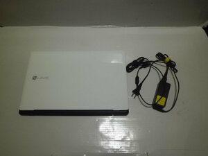 ノートパソコン パソコン NEC Lavie NS100B2W Windows8.1 インテル Celeron3205U 1.5GHz メモリ4GB HD380GB Webカメラ HDMI USB 15.6ワイド