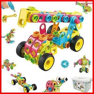 【購入歓迎】 組み立 立体パズル DIY 誕生日のプレゼント 女の子 男の子 セット STEM 知育玩具 積み木 子供 おもちゃ 大工さん 223個