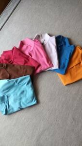 ポロシャツ 半袖 レディース 7枚セット Mサイズ