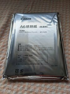 * новый товар нераспечатанный * Canon *CANON* мобильный принтер для *A6 для термочувствительная бумага ( обыкновенная бумага )*BP-F600*KS-A6011*100 листов ввод *