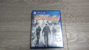 ■PS4 THE DIVISION ディビジョン 美品 TOM CLANCY'S