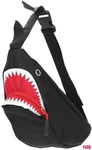 ショルダーバッグ 3way サメ レディース バッグ メンズ 女性 釣り 自転車 ボディバッグ アウトドア 釣り リュック かわいい おしゃれ