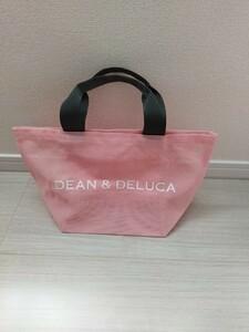 DEAN&DELUCA トートバッグ ピンクsサイズ