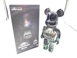 【美品】BE@RBRICK my first 400% bearbrick ベアブリック ベアーブリック 千秋 MEDICOM TOY メディコムトイ B@BY space Ver. スペース