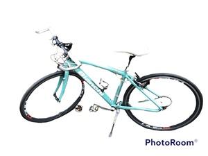 【中古】Bianchi ビアンキ ロードバイク Camaleonte Sports ALLOY 7000 カメレオンテ 43 スポーツ クロス ロード 自転車 引取可