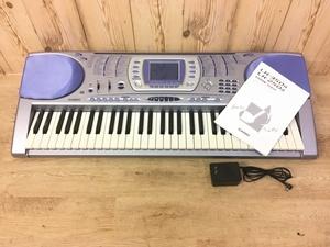 【1円~】カシオ CASIO LK-250it 光ナビゲーションキーボード ケータイリンク光ナビ 61鍵盤 光る鍵盤キーボード 動作確認済み