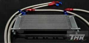 汎用 大容量 13段 オイルクーラーキット サイド廻し ゼファー XJR CB CBX ZRX GSX Z 750 400 1300 CB750F 旧車 バイク用
