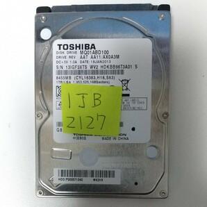 TOSHIBA 2.5インチ HDD 1TB 2127時間
