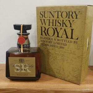 SUNTORY サントリー ウイスキー ローヤル SR 箱付き