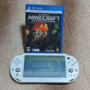 PS Vita PCH-2000 Wi-Fiモデル マインクラフト