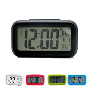 目覚まし時計 LEDデジタル時計 アラーム機能付き 置き時計 壁掛け時計 明るさ調整 デジタル時計
