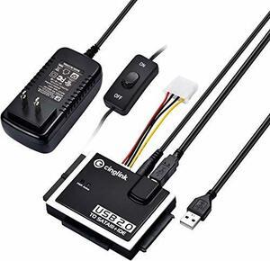 目玉 SATA IDE USB変換アダプタ 2.5/3.5インチ SATA IDE HDD SSD DVD 光学ドライブ対応