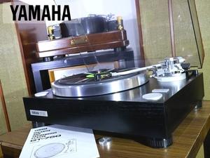 良品 YAMAHA GT-750 レコードプレーヤー シェル等付属 当社整備/調整済品 Audio Station