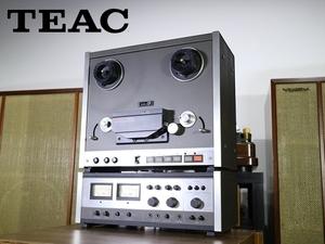 定期メンテ品 TEAC A-6700 オープンリールデッキ 2トラ38 クランパー付属 Audio Station