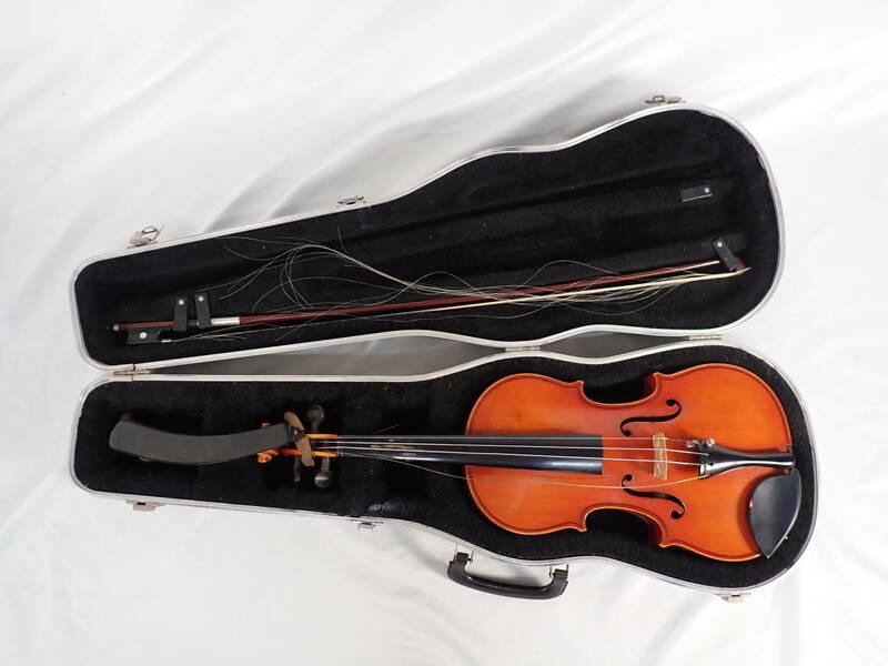 SUZUKI スズキ バイオリン 1961 4/4 №18 ケース付き 楽器