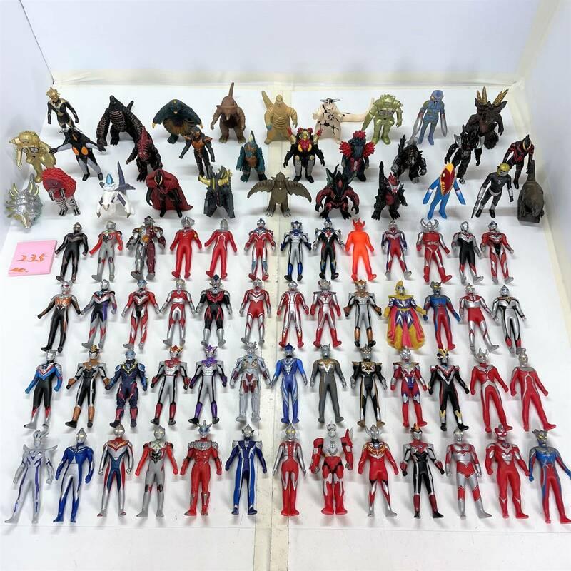 ウルトラマン ウルトラヒーロー500 ウルトラ怪獣500 シリーズ ソフビ ソフトビニール人形 ライブサイン フィギュア まとめて 大量 セット
