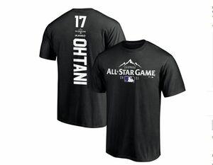 2021 MLB オールスターゲーム Fanatic 社製 カスタムプレーヤーTシャツ ♯17 大谷翔平 Lサイズ