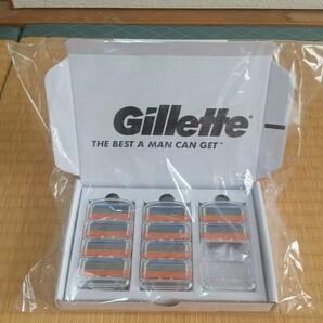 【新品】Gillette [ジレット] フュージョン5+1 替刃 10個入り/カミソリ/髭剃り/ひげそり/シェービング/替え刃