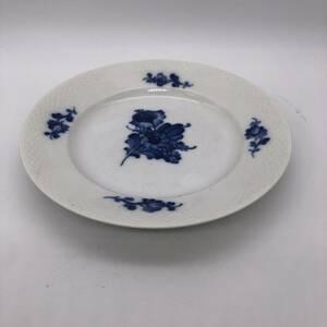 4400 Royal Copenhagen ロイヤルコペンハーゲン ブルーフラワー プレート 丸皿 平皿 洋食器 キッチン ブランド 西洋陶器 インテリア