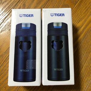 新品 タイガー ステンレスボトル 200ml インディゴブルー 夢重力 保冷 保温 タイガー水筒 TIGER ステンレスマグ