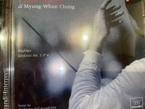 2CD【自主制作】チョン・ミョンフン/聖チェチーリア管★マーラー:交響曲第1番「巨人」、第4番(スミ・ジョー)